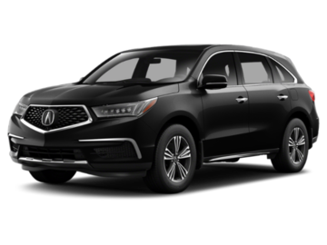Build and price your 2018 Acura MDX