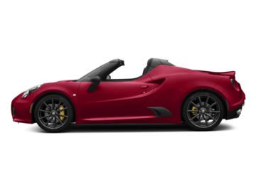 Build and price your 2018 Alfa Romeo 4C Spider