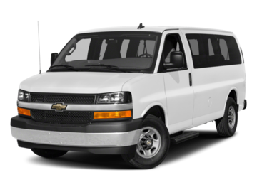 Build and price your 2018 Chevrolet Express Passenger