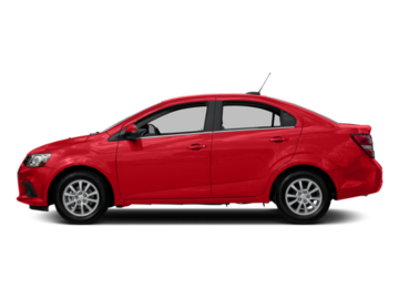 Build and price your 2017 Chevrolet Sonic