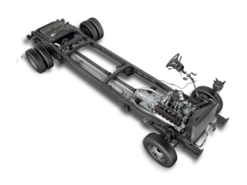 Ford E-Series Stripped Chassis  2019