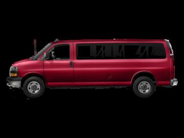 Configurateur & Prix de GMC Fourgonnette Savana tourisme 2018